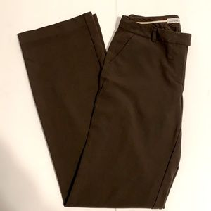 Old Navy Brown Long Classic Rise Dress Pants